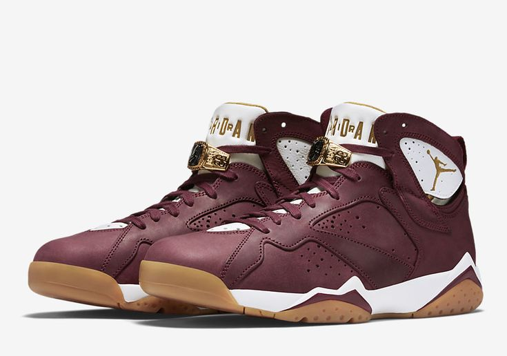 """Air Jordan 7 """"Cigar and Champagne"""" Celebrates Jordan's First Back-To-Back Championships Page 3 of 4 - SneakerNews.com"""