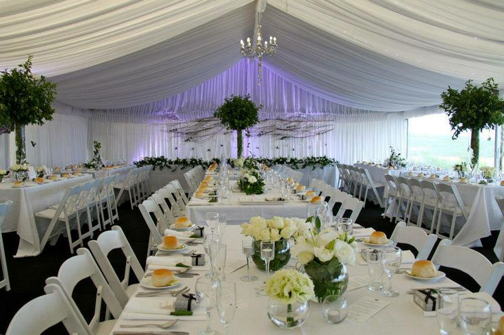 Marquee in the Gardens