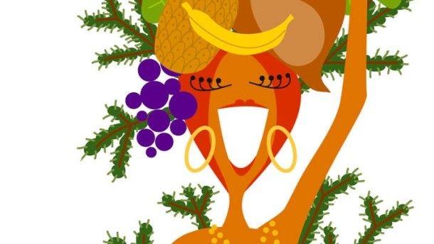 Weihnachten in Brasilien findet unter Palmen statt.