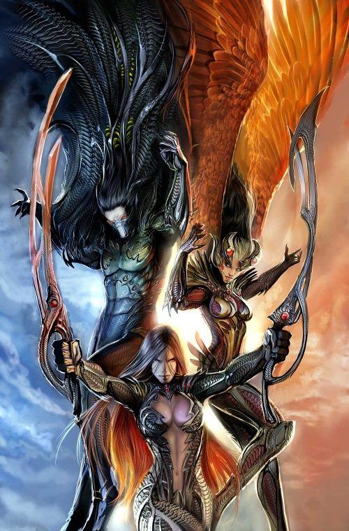 Fantasy art  - Page 23 63a4f7183a2aeab9e7d5ab2353eb9850