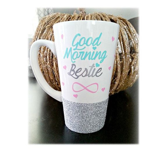 Bestie Mug, Best Friend Gift, Best Friend Mug, Best Friend Long Distance  ♥ Product INFO - PLEASE READ:♥ 5.9 H x 3.5 W x 2.3 Base - 16 oz