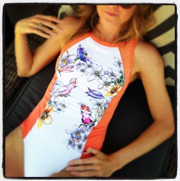 Addidas Stella Mccartney Bathing Suit (on Ellen Pompeo