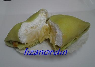 Fiza Nordin: Durian CrepeDurian Crepes, Fiza Nordin