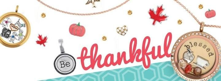 {Share Your Thanks}  Here's a chance to share -- what are you most thankful for? Visit my FB page (www.facebook.com/jessicatslockets) and comment on the giveaway.    I'll leave this up and choose a winner Thursday at 8 pm CST. Winner will be chosen by random name generator using those who comment on the photo at my FB page.   Love Origami Owl and want to join my team? Comment below for info!