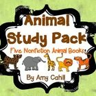 This pack is a perfect addition to any animal study.  It includes 5 nonfiction books about zoo animals.  Each book is 7 pages and discusses the ani...