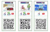 QR kaarten Winter onderbouw #gratisdownload
