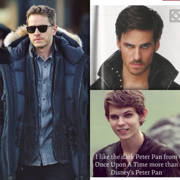 The cutest guys from ouat Josh dallas, colin o'donghue and robbie kay ❤️