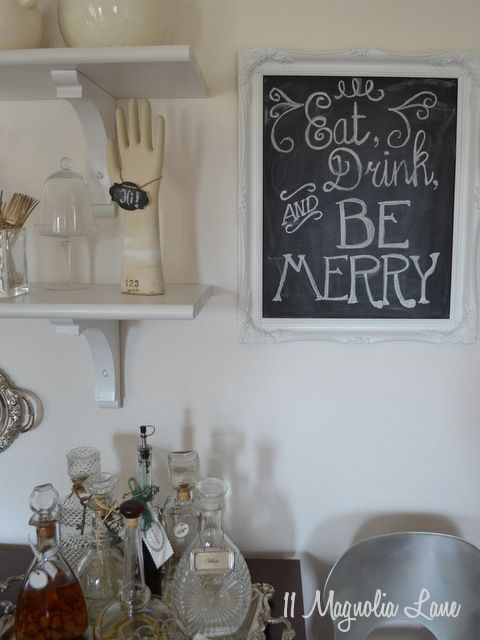 Best Chalk Lettering Images On Pinterest Chalk Lettering - Chalkboard accents dining rooms