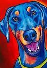 doberman painting - Bing Images