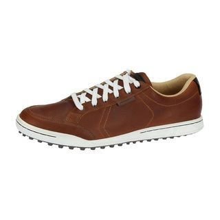 Ashworth Men's Cardiff Tan Brown/ Black/ Gum Golf Shoes | Overstock.com Shopping - Top Rated Adidas Men's Golf Shoes