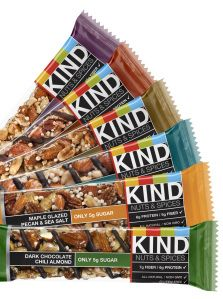 Foodie Friday: Our Taste Test of Two New KINDBars  - Energy is just a bite away | Health.com