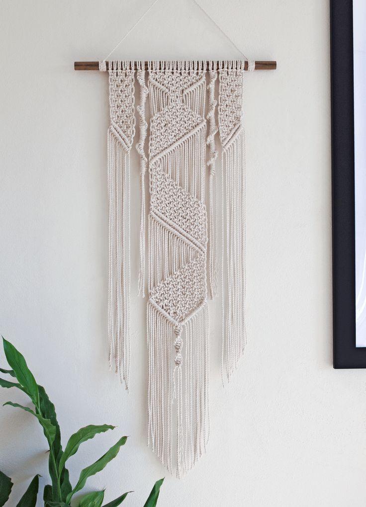 Daenerys | One of a kind handmade Macramé wall hanging by Macramé Mons. One piece revealed each fortnight on a Monday ✖️