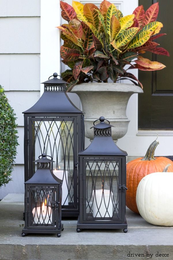 Best of fall decorating ideas inspiration beautiful Beautiful fall front porches