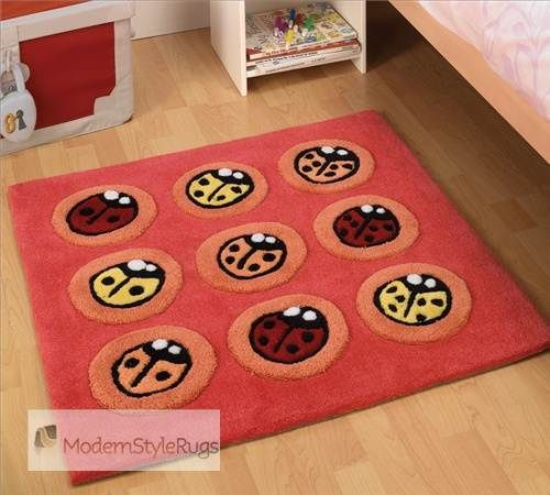 Red Kiddy Rug