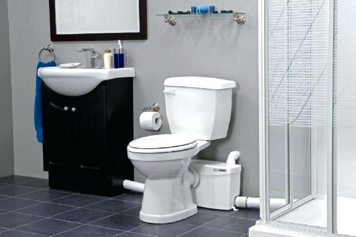 Basement toilet pump