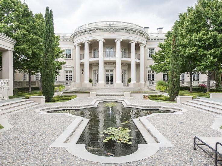 Epic 39 White House 39 Style Mansion Dallas Texas Usa