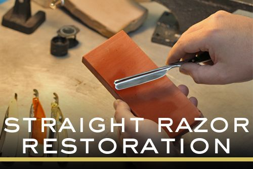 Straight Razor Restoration and Honing