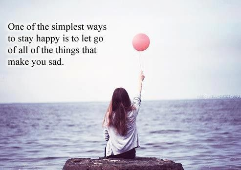 How to live: Inspiration, Life, Quotes, Thought, Letting Go, Things, Stay Happy, Lets Go, Simplest Ways