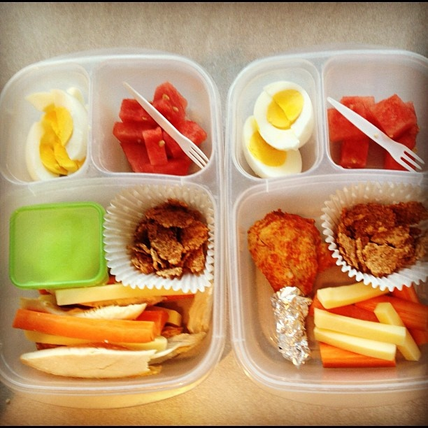 What's for lunch? YUM! #EasylunchboxesEasy Lunches, Eggs Breakfast, Boiled Eggs, Lunchbox Ideas, Eggs Bento, Lunches Boxes, Lunches Ideas, Chicken Legs, Boxes Lunches