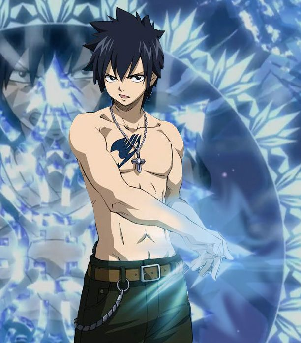 Fairy Tail: Gray Fullbuster by ~Kawaii-smilez on deviantART