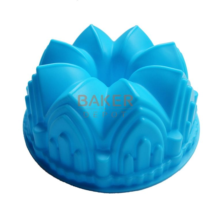 Large crown silicone cake mold microwave baking tools novelty cake molds bread moulds   SCM-003-4