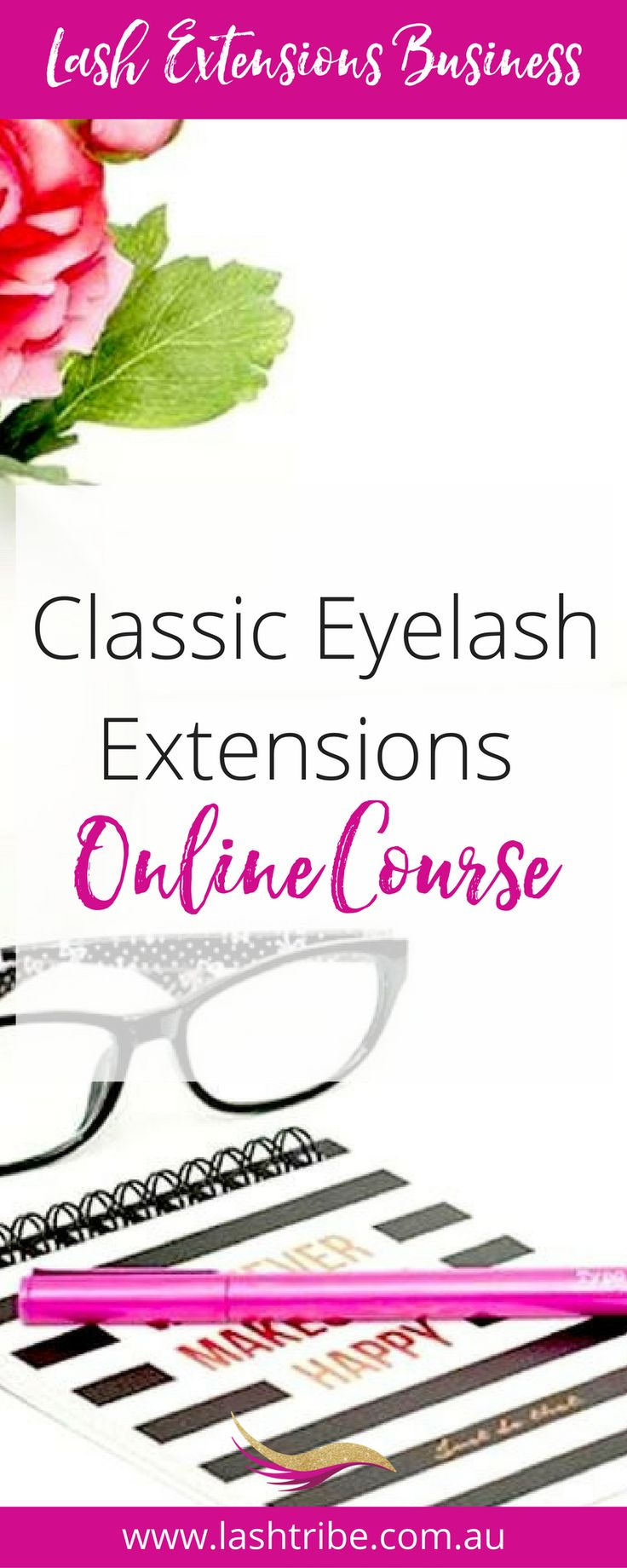 Classic Eyelash Extensions Course is designed for total beginners, anyone who wants learn how to start a business as an Eyelash Extension Artist performing Classic Lashes. The course includes all tricks, tips and techniques you need to know about Classic Eyelash Lashing and what you need to start out working on clients and making money.  Learn more at http://lashtribe.com.au/online-training/classic-lashes-course/ | Lash Extensions Business Tips + Marketing Ideas | Lash Tribe Australia