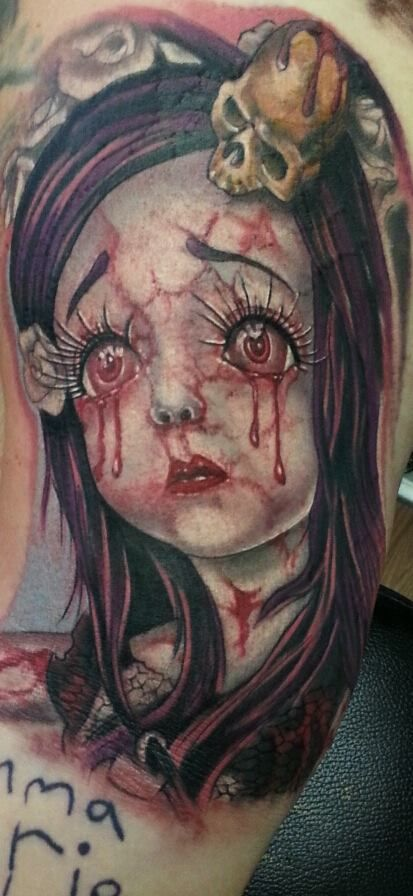 45 best creepy doll and puppet tattoos images on pinterest for Association of professional tattoo artists
