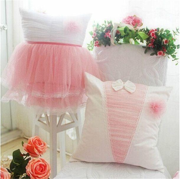 Decoración-de-la-boda-cojín-rosa-con-blanco-dulce-princesa-cojín-reforzar-cuadrados-dormitorio-decorativa-throw.jpg (610×606)