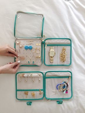 How To Pack Jewellery For Journey // Group Ideas & Methods