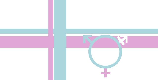 Perk Your Desktop with these wallpapers: Transgender flag