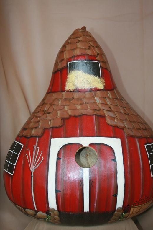 Red Barn Gourd
