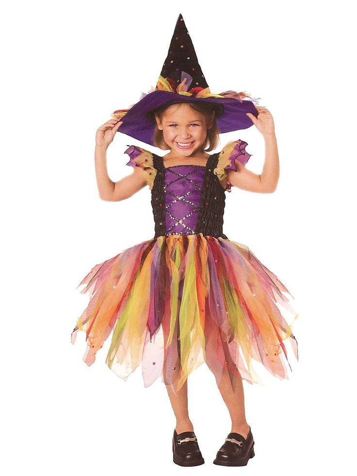 Glitter Witch Kids Costume | Wholesale Witch Costumes for Girls
