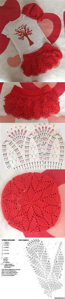"КОМПЛЕКТ ПРИНЦЕССЫ: ""ВЕСНА КРАСНА!!!"" ОТ ЮЛИ С БЕБИБЛОГА » В сети – себя просвети! [   ""Find and save knitting and crochet schemas, simple recipes, and other ideas collected with love."" ] #<br/> # #Crochet #Cap,<br/> # #Crochet #Dresses,<br/> # #Kids,<br/> # #Nazare,<br/> # #Crochet #Patterns,<br/> # #Screens,<br/> # #Knitting,<br/> # #Dresses,<br/> # #Tissue<br/>"