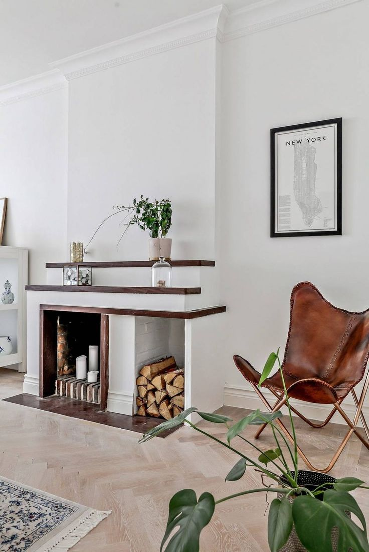 Apartment in Malm by Bjurfors Skne  MalmPhysicsFireplacesFire ...