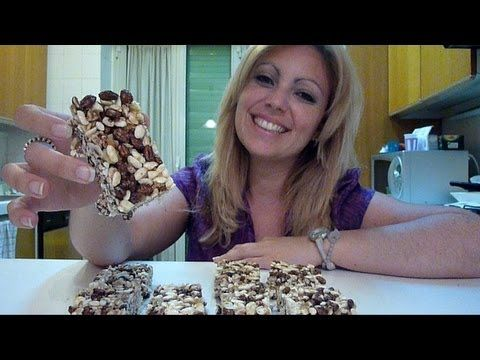 ricetta barrette di cereali muesli - YouTube