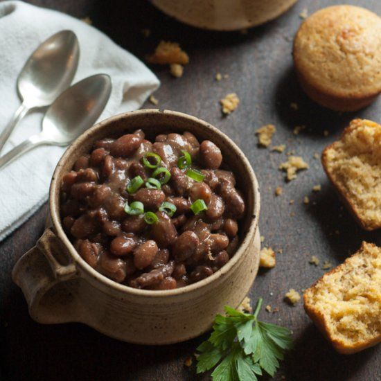 how to cook pinto beans in a bean pot