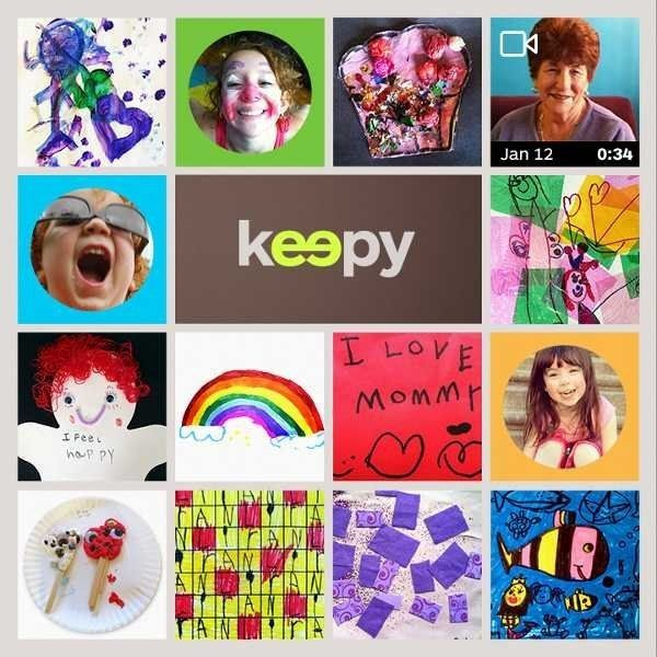 You can also save your kid's artwork (and a whole lot more!) with Keepy. | 26 Ways To Preserve Your Kids' Memories Forever