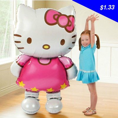 Check this product! Only on our shops Oversized Hello Kitty foil balloons cartoon happy birthday decoration baby toy and wedding party inflatable air balons - $1.33 http://tvshopping4.net/products/oversized-hello-kitty-foil-balloons-cartoon-happy-birthday-decoration-baby-toy-and-wedding-party-inflatable-air-balons/