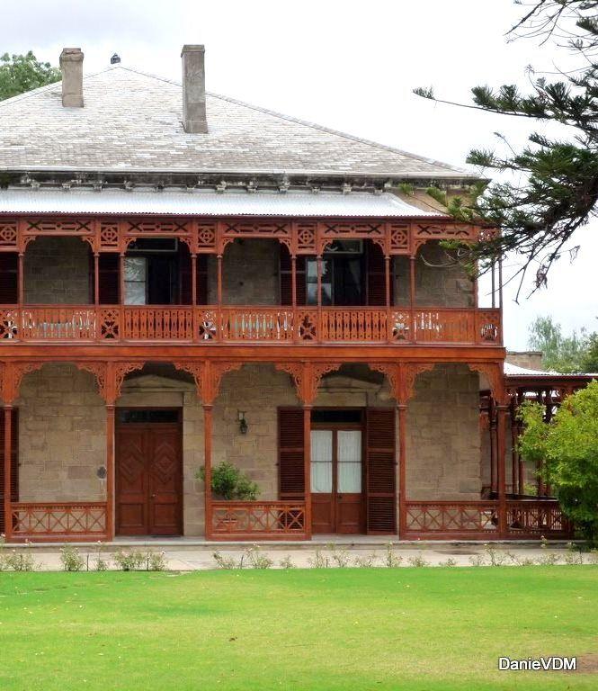 Old house in Oudtshoorn South Africa