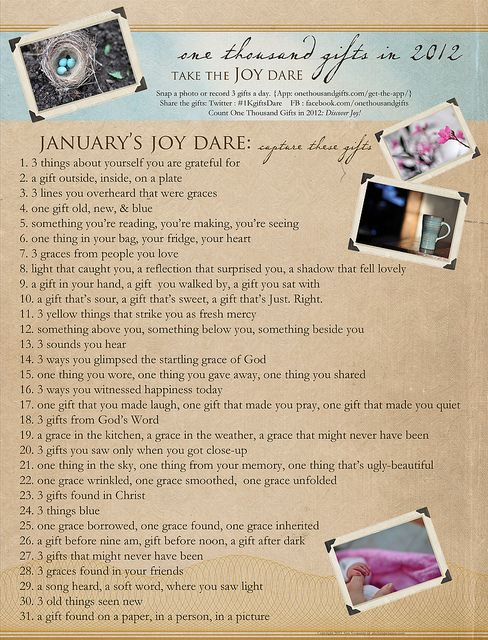 January's Joy Dare (2012) by Ann Voskamp {Download to print here}
