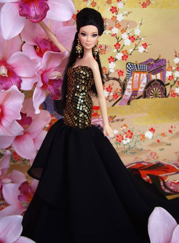 2011 Miss Korea (3rd Runner Up) SE Asian pageant doll