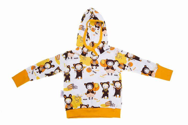 Huppari, Naamiaiset, Keltainen 74/80 cm -30% - Melli EcoDesign - kotimaiset lastenvaatteet, ekologiset lastenvaatteet, keskosen vaatteet, vauva