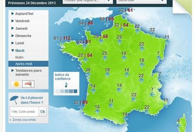 Avis de tempête pour Noël sur la France : Météo France a émis un bulletin d'alerte à la tempête dès le 24 décembre prochain. Les vents atteindront les 100 km/h sur une grande partie de la France et même les 150 km/h sur le littoral.  En savoir plus sur http://www.lexpress.fr/actualite/societe/meteo/avis-de-tempete-pour-noel-sur-la-france_1308986.html#KAytcRURqviCQK6w.99