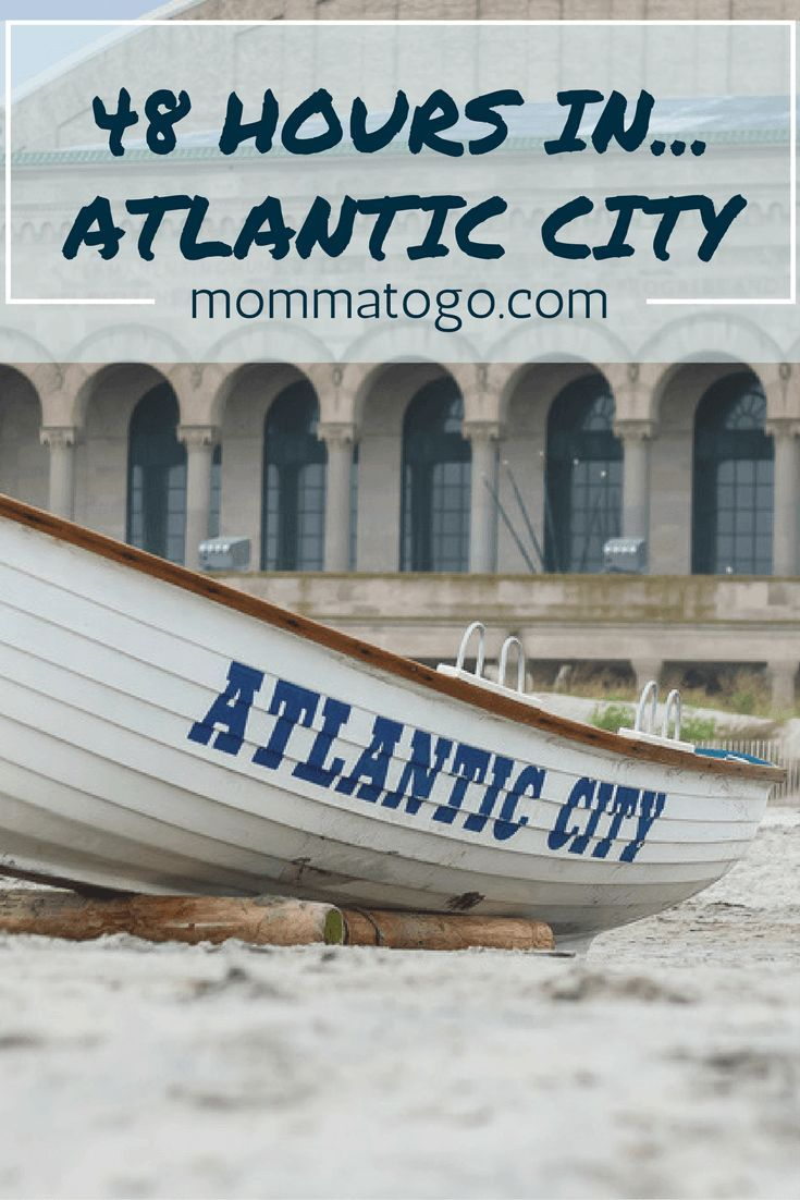 48 Hours In... Atlantic City. A winter family getaway to Atlantic City, New Jersey. Where to stay (Tropicana), eat (Cuba Libre, Rainforest Cafe, Angelo's and Country Kitchen) and what to do (mini golf, board walk, aquarium, swim and more!) http://mommatogo.com