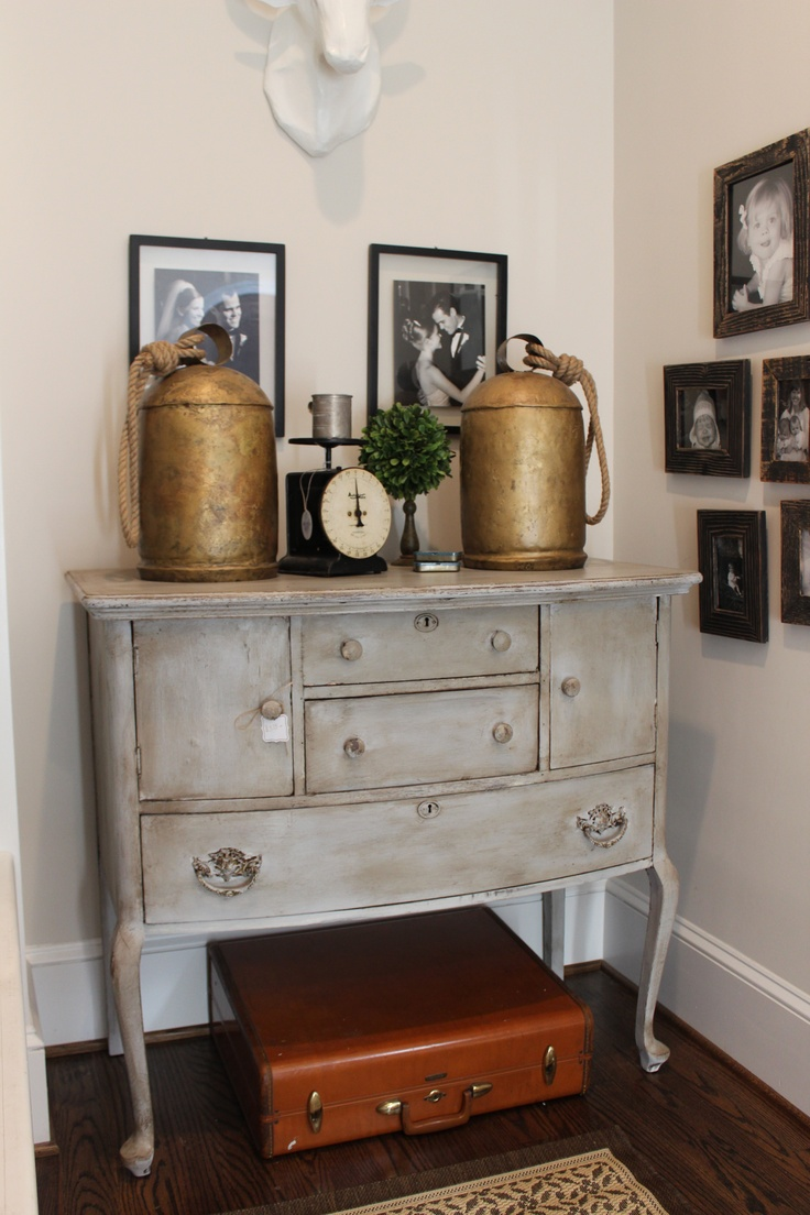 Refinished Antique Console by cbensten. 131 best Buffets   Sideboards   Chalk Paint Ideas images on