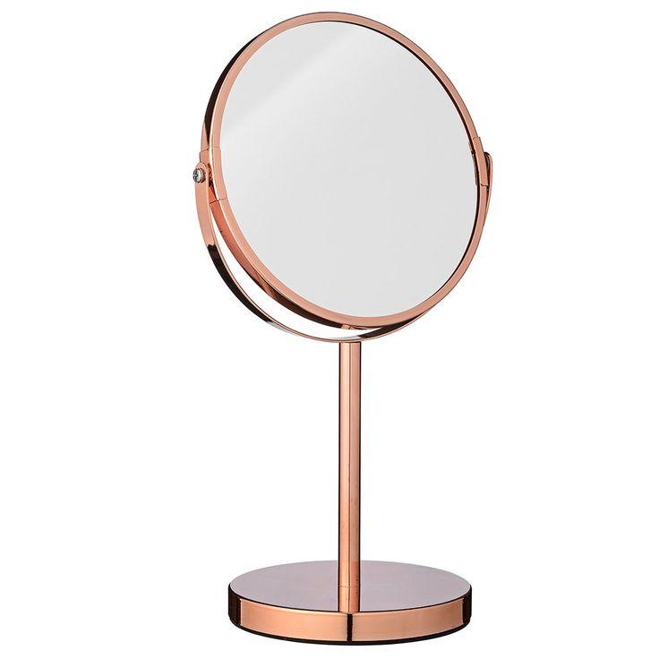 Mirror Ø20xH35cm, Copper, Bloomingville