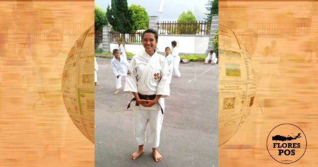 Elvira, atlet Kempo asal Manggarai Tengah hingga kini masih ditelantarkan di Tangerang tanpa ada kejelasan dari pihak Pemkab Manggarai terkait kepulangannya.