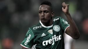 Barcelona have secured an option for the Colombia international Yerry Mina