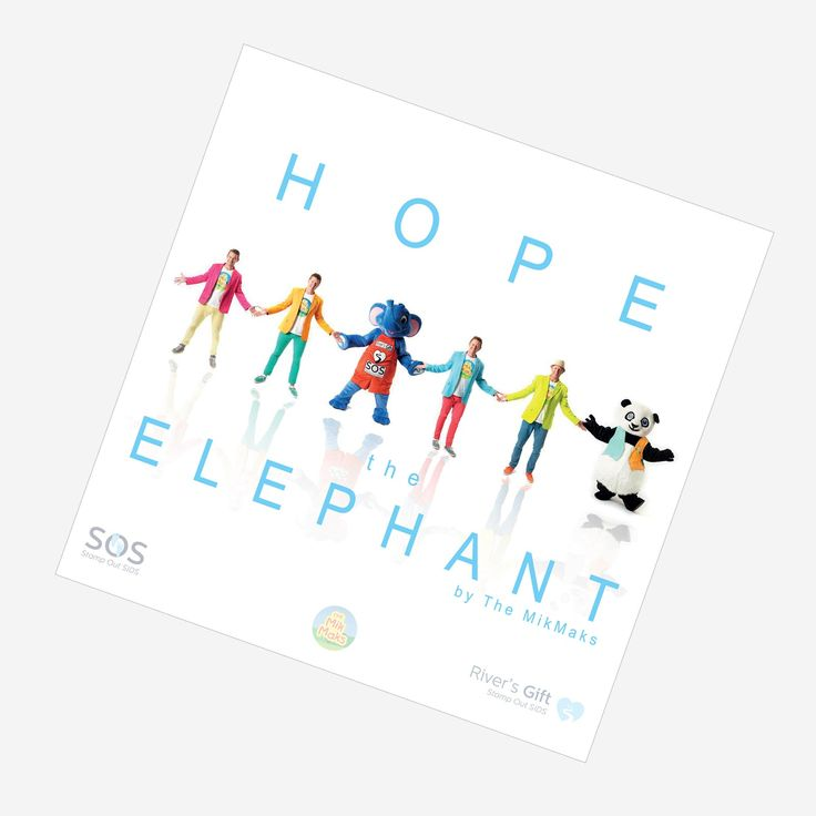 Digital Song Download: Help The MikMaks, Hope and River's Gift SOS! (Stamp Out SIDS!) Purchase for only $1.69 @ http://www.themikmaks.com.au/product/hope-elephant-single-digital-download/