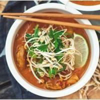 Khao soi de dindon (Curry du Nord de la Thaïlande)| Le Dindon du Québec